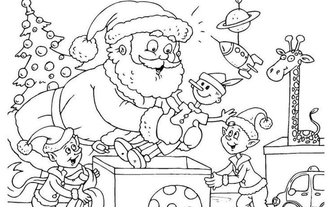 Jeux De Noel Notre Selection De Coloriage Et Jeux Pour Enfants Telephone Pere Noel